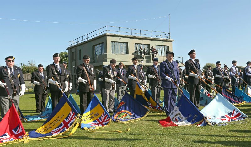 Allied Air Forces Memorial Day at Yorkshire Air Museum