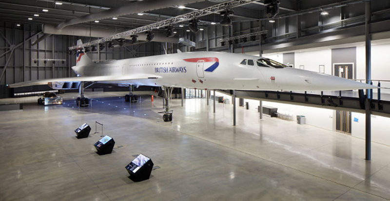 Concorde at Aerospace Bristol