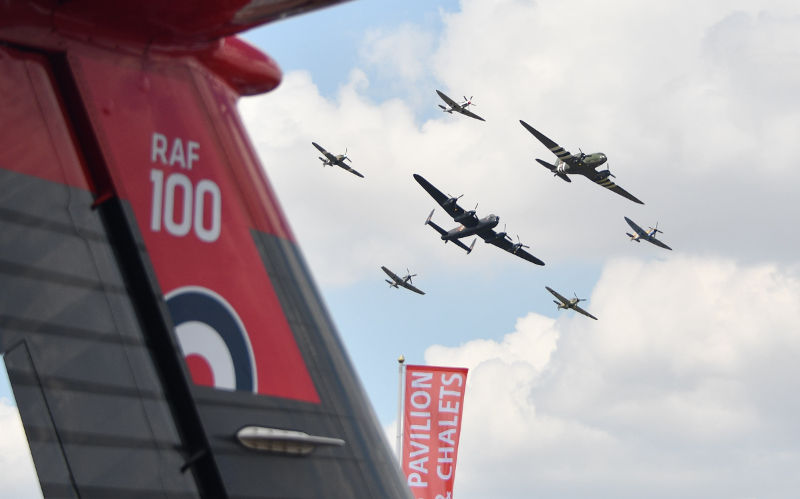 RAF100 at Air Tattoo (image by Calyx)