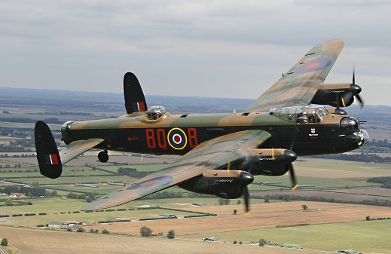 BBMF Lancaster by Terry Lee