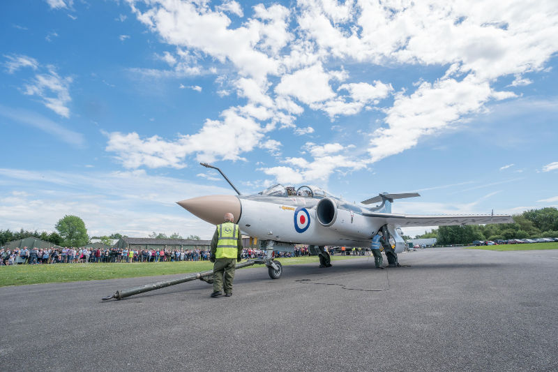 Buccaneer at Yorkshire Air Museum