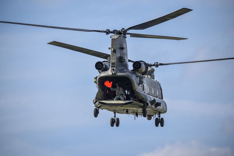 Chinook at Dunsfold by Ironside Images