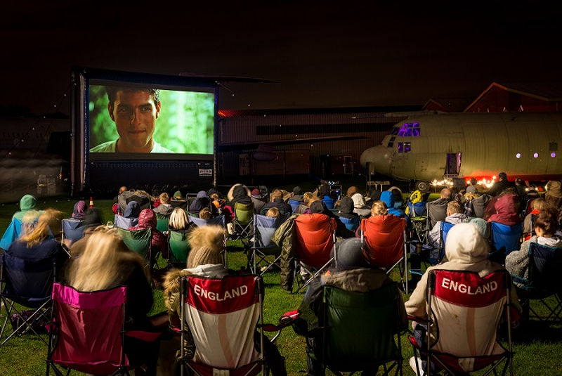 RAF Cosford Open Air Cinema