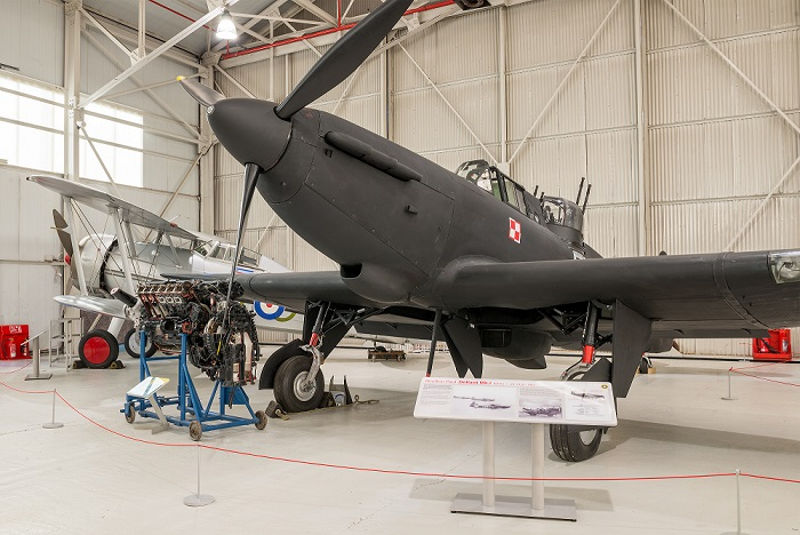 Boulton Paul Defiant at RAF Museum