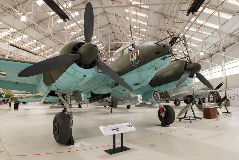 Ju88 at RAF Museum
