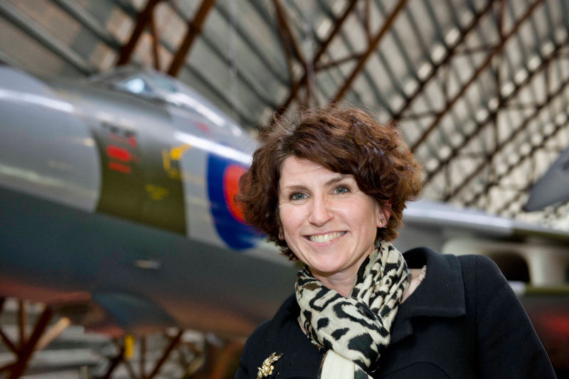 Maggie Appleton of RAF Museum