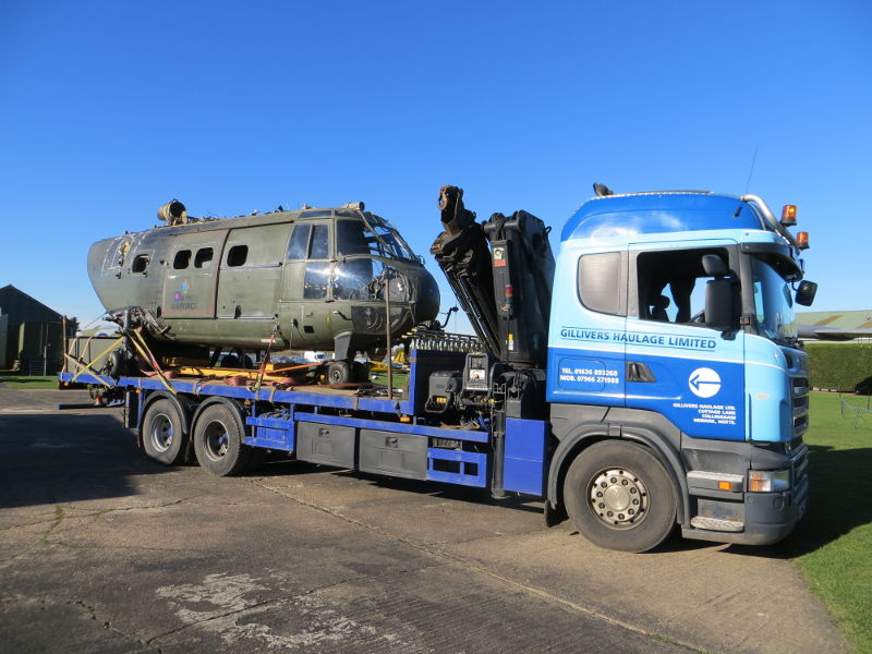 Puma arrives at Newark Air Museum