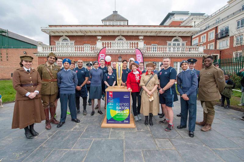 RAF Museum Hendon RAF100 Celebrations
