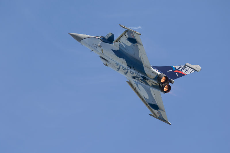 Rafale at Duxford Air Festival