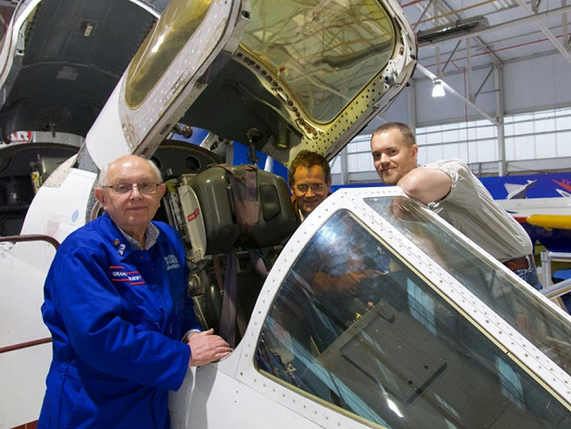 TSR2 cockpit at RAF Museum Cosford