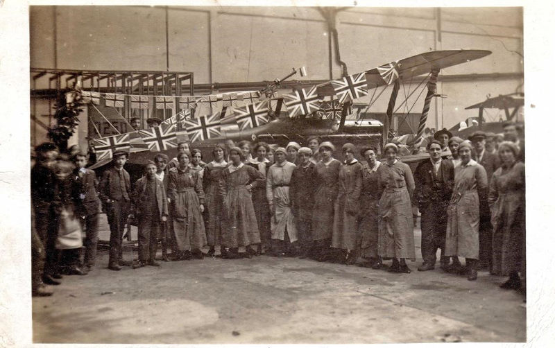 Brooklands Women in the Great War