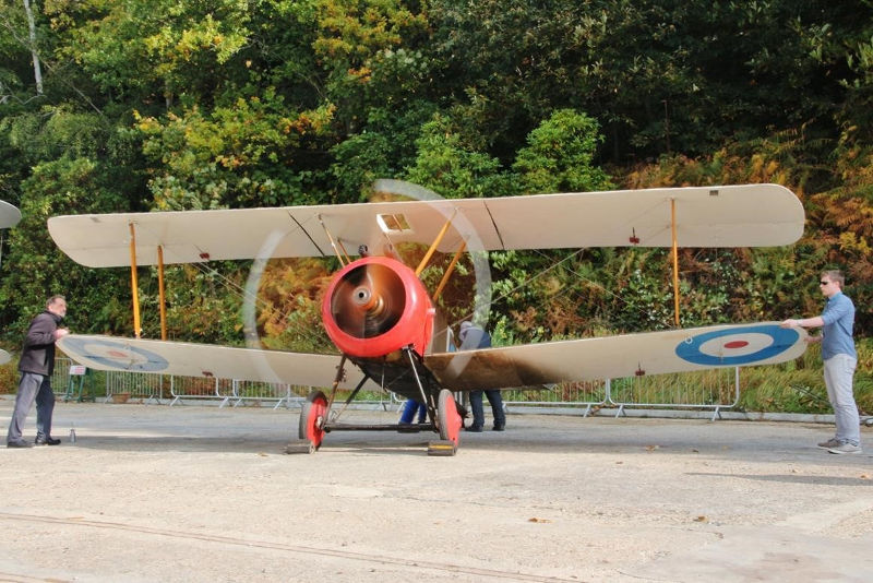 Sopwith Camel at Brooklands