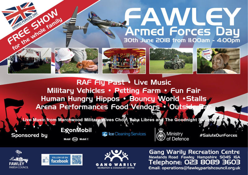 Fawley Armed Forces Day