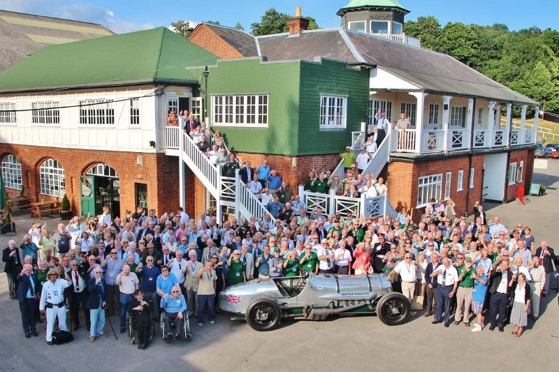 Volunteers at Brooklands