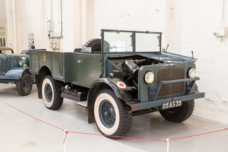 Bedford truck at RAF Museum Cosford