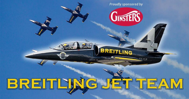 Breitling Display Team at Eastbourne