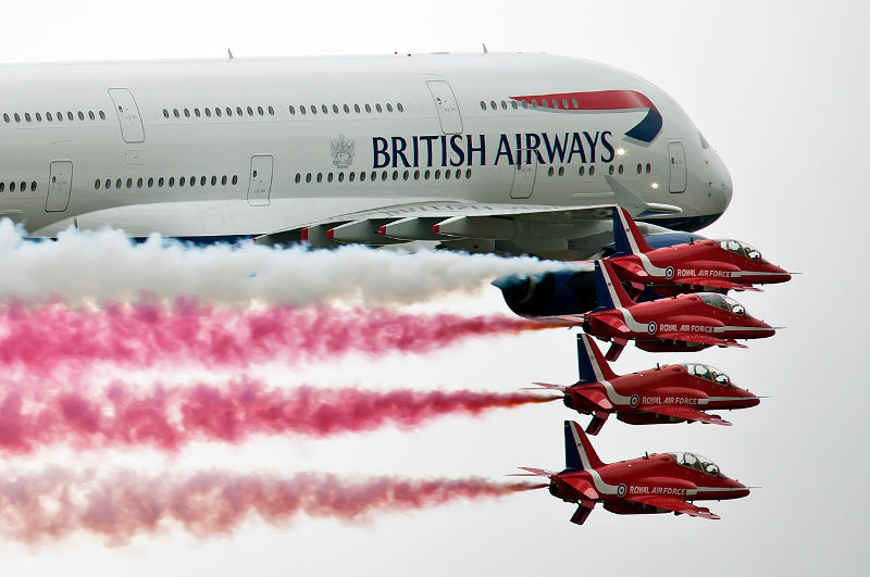 British Airways at RIAT