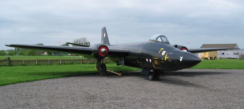 Canberra at Newark Air Museum
