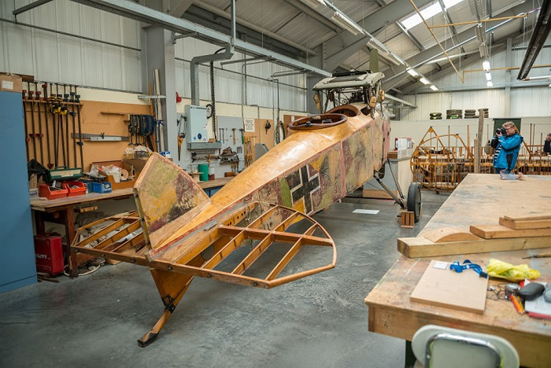 Conservation work at RAF Museum Cosford