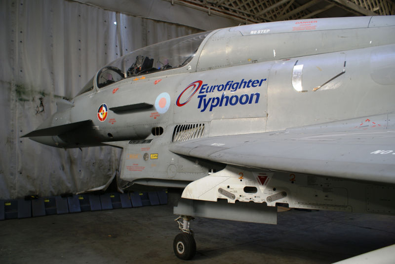 Newark Air Museum Eurofighter Update