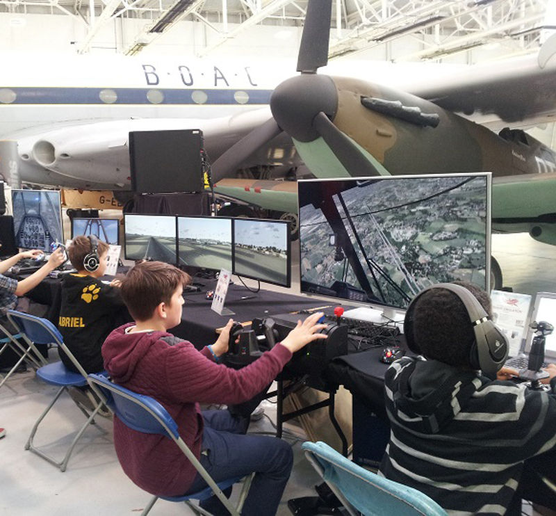 Flight Sim 2019 at RAF Museum Cosford