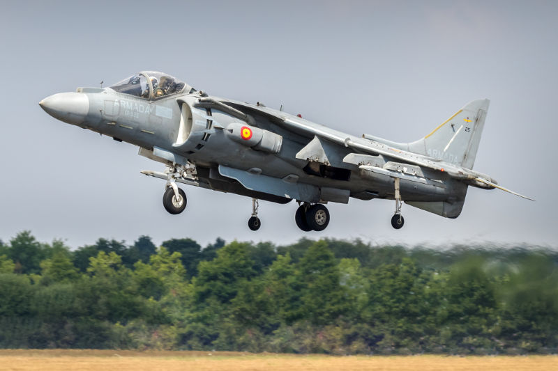 Spanish Harrier at Yeovilton