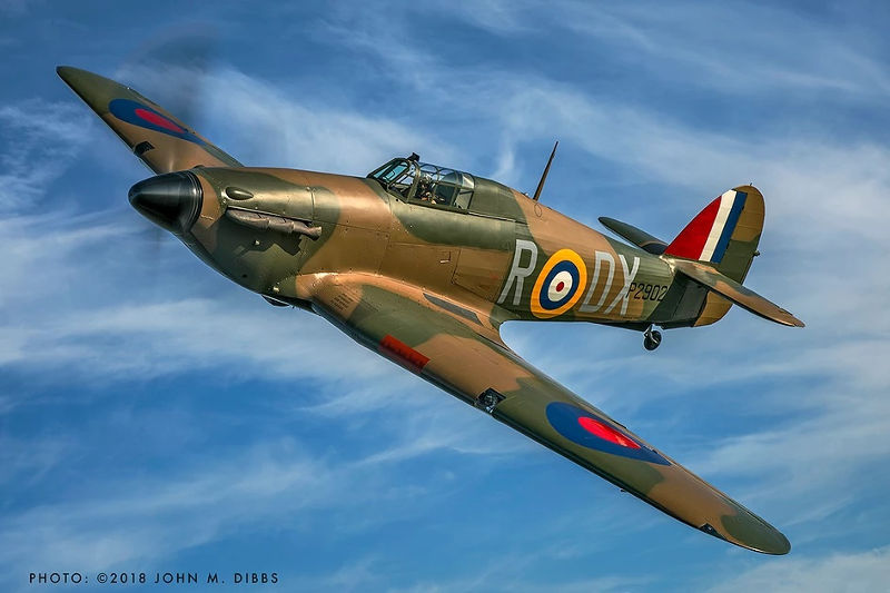 Hawker Hurricane at Dunsfold