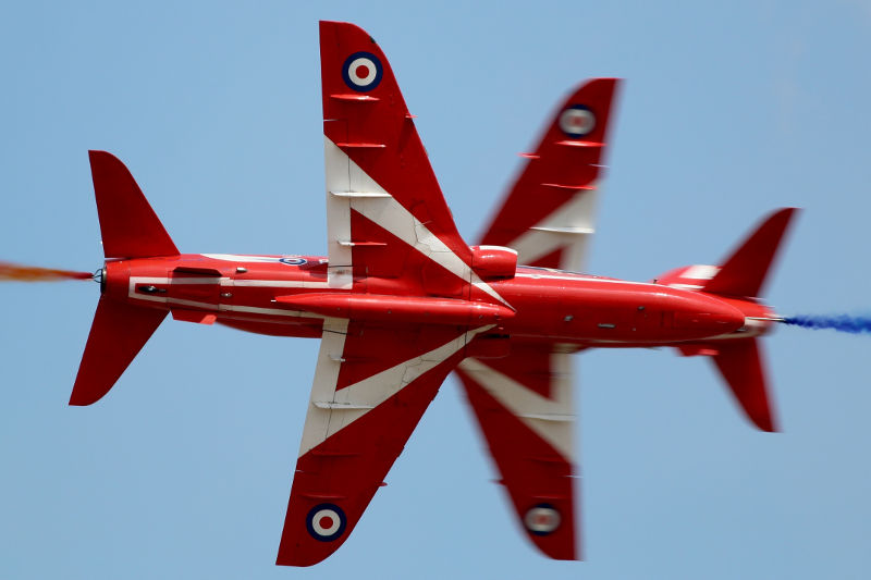 Red Arrows at RIAT