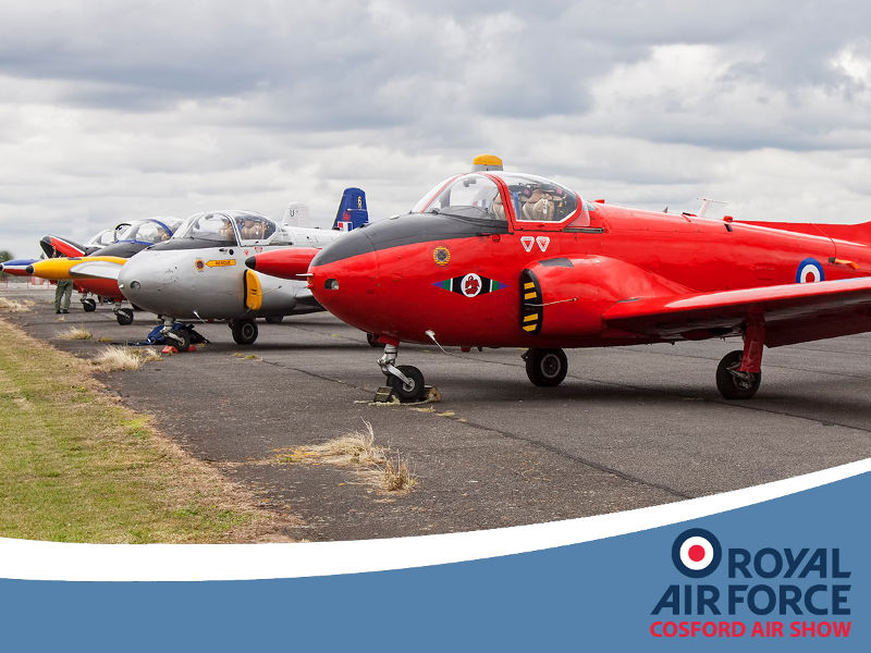 Jet Provost at RAF Cosford Air Show