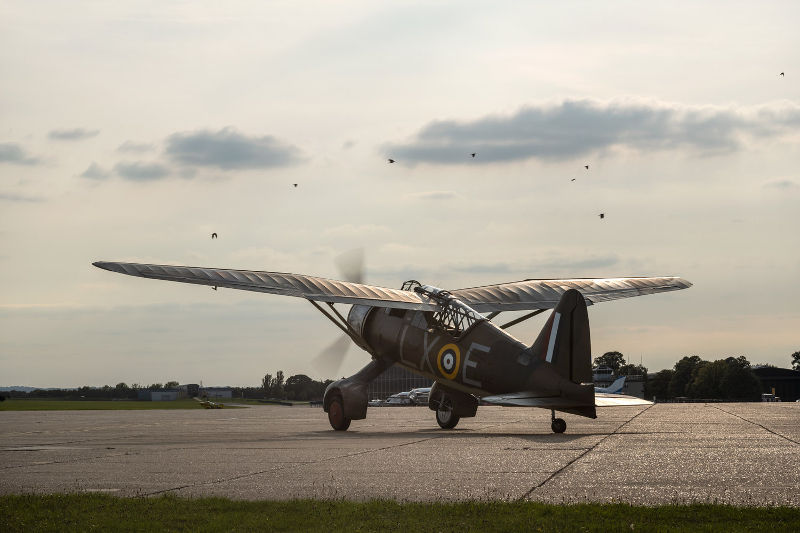 Lysander at Dunsfold Wings and Wheels