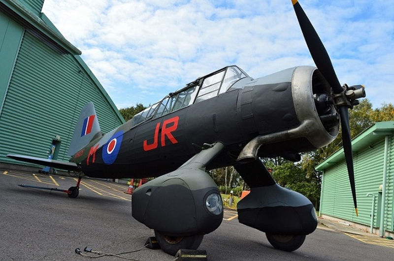 Lysander at Cosford