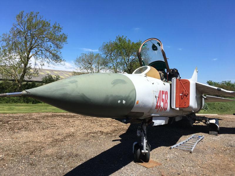 MiG-23 at Newark Air Museum