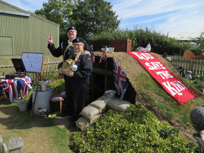 Newark Air Museum 1940's event