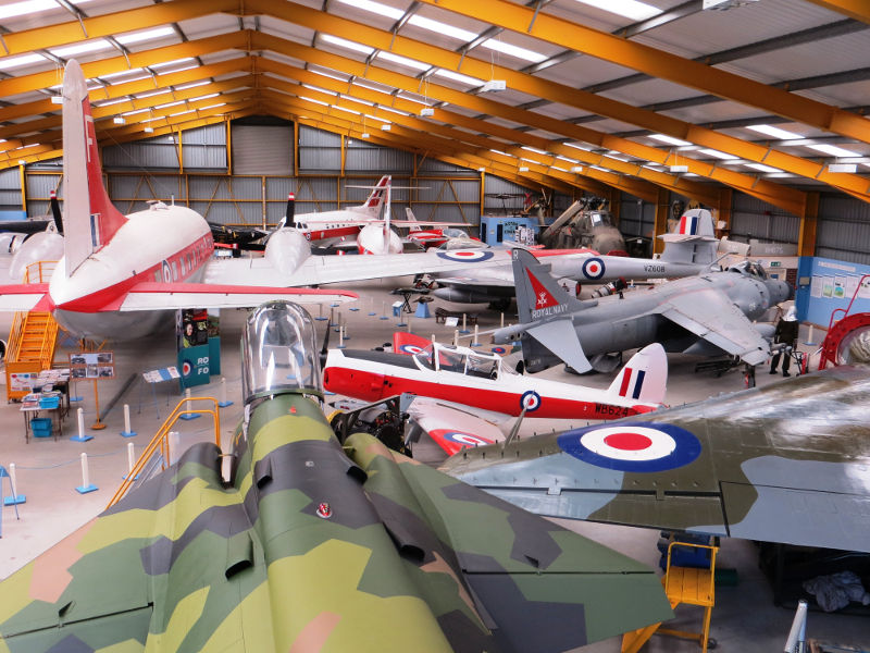 NAM Hangar 2 - funded by the HLF