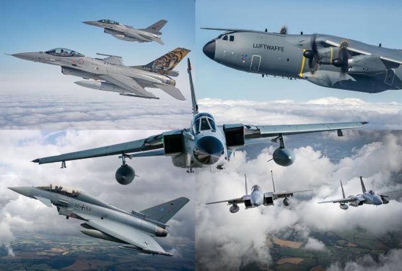 NATO Anniversary Flypast at RIAT