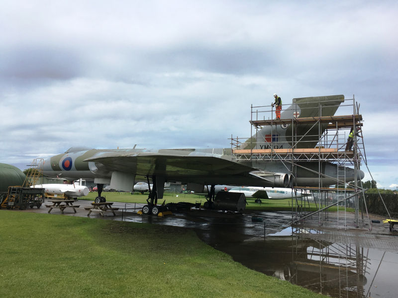 Vulcan restoration at Newark