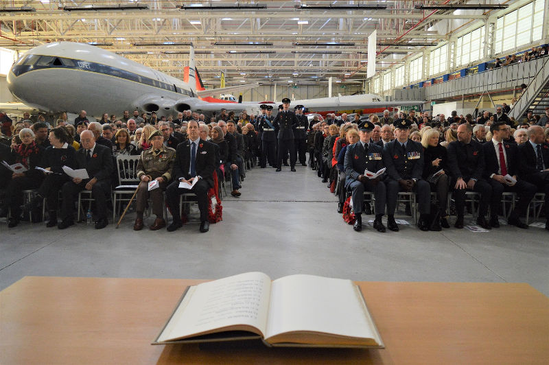 RAF Museum Remembrance Service