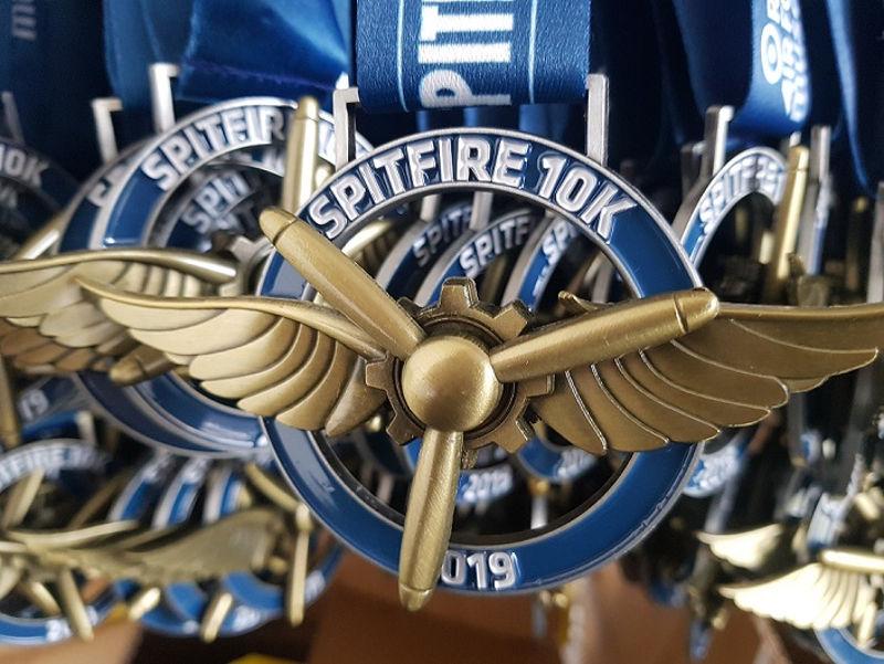 Spitfire 10k medals