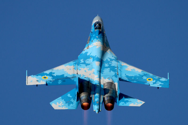 Ukrainian SU-27