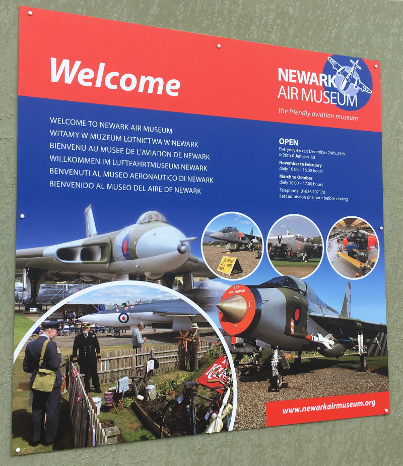 Newark Air Museum Thanks To You