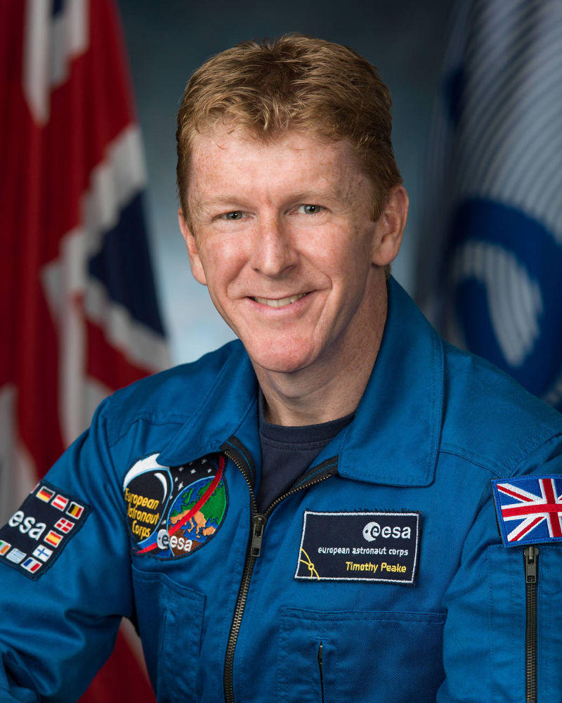Tim Peake by ESA