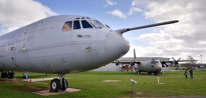 VC10 at RAF Museum Cosford