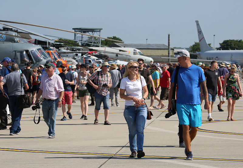 Yeovilton Air Day Crowds