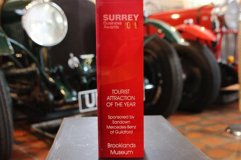 Surrey Tourist Attraction Award