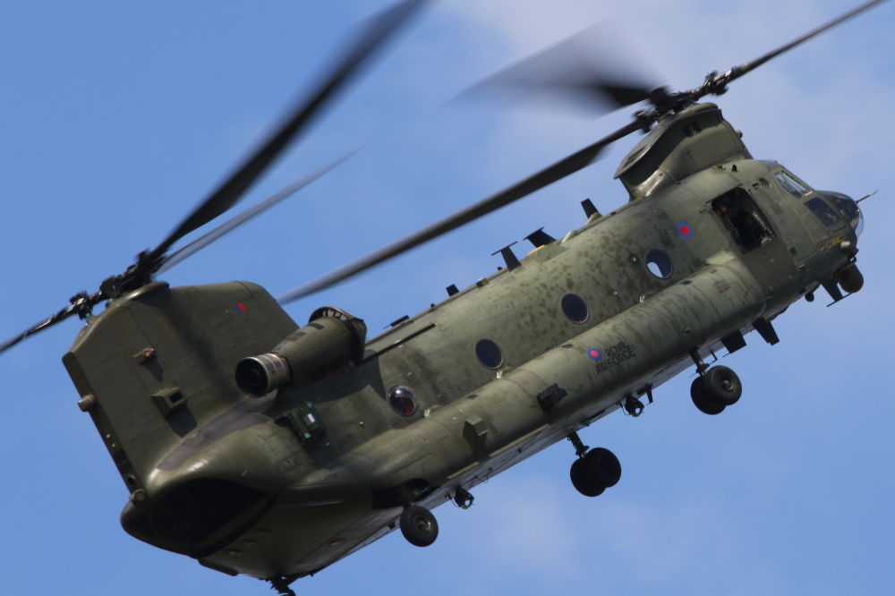 RAF Chinook by Airscene