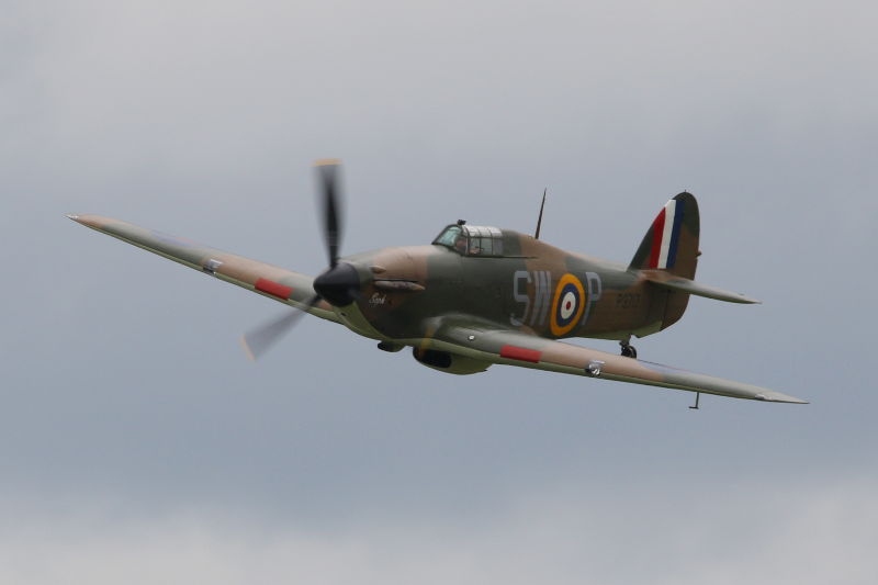 Hurricane at Dunsfold