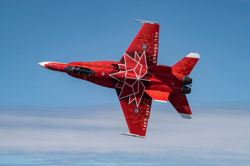 Royal Canadian Air Force Hornet