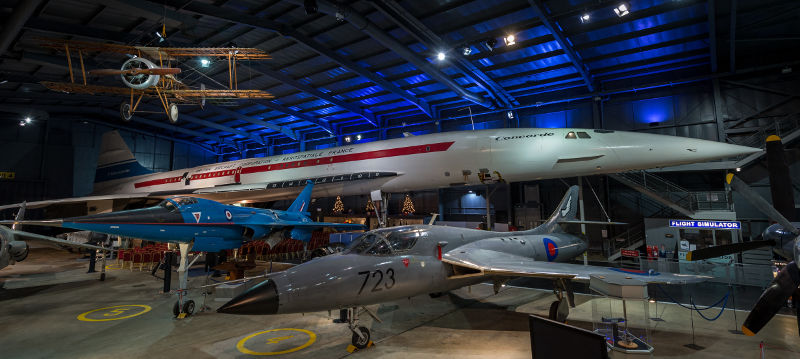 Concorde at Yeovilton Fleet Air Arm Museum