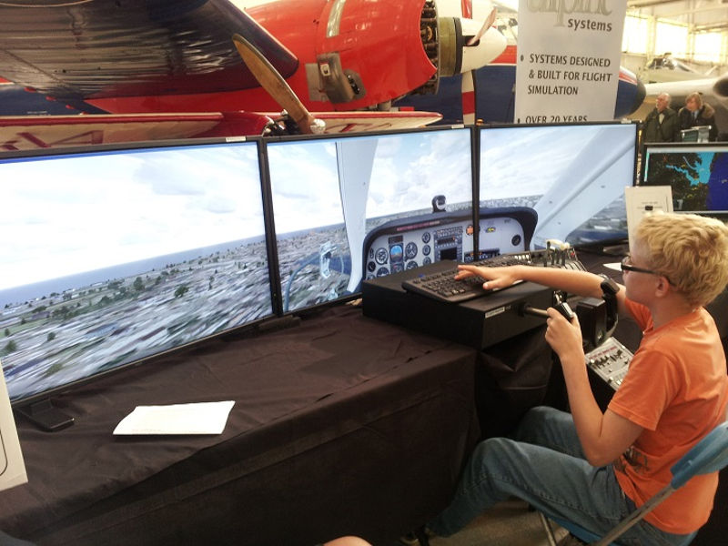 Flightsim at Cosford