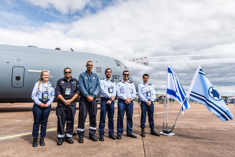Israel Air Force at RIAT